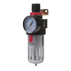 Filtro regulador para aire comprimido de 150 mm.