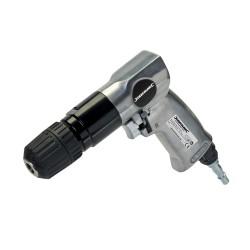 Taladro neumático reversible de 10 mm.