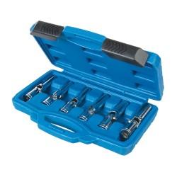 """Juego llaves vaso articuladas para bujías, 6 pzas 3/8"""" / 8 - 16 mm"""