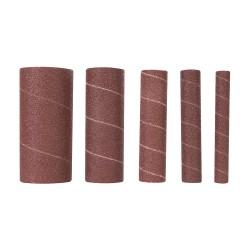 Rodillos de lija de óxido de aluminio, 5 pzas TSPSS80 grano 80
