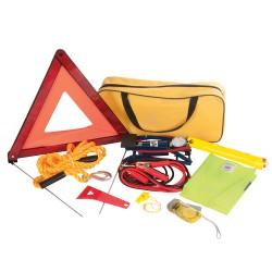 Kit de emergencia para coche, 9 pzas