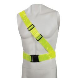 Cinturón de seguridad reflectante PVC   78 – 108 cm