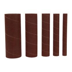 Rodillos de lija de óxido de aluminio, 5 pzas. grano 150