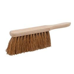 Cepillo de mano con fibra de coco suave