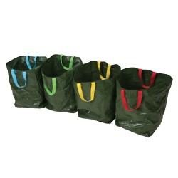 Bolsas de basura para reciclaje, 4 pzas