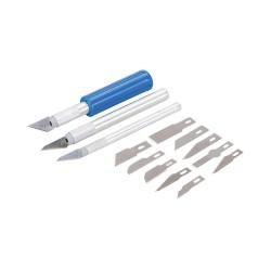 Juego de cúteres y cuchillas, 16 pzas