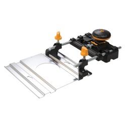 Adaptador de carril para fresadora