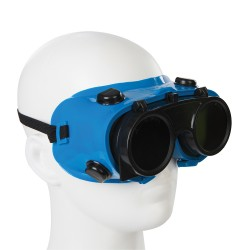 Gafas de soldador Transparente / Verde n° 5
