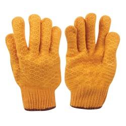 Guantes amarillos antideslizantes L 10
