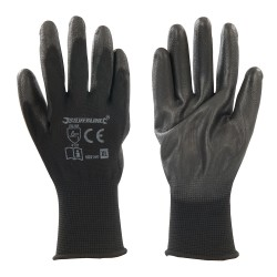 Guantes con palma de color negro XL 11