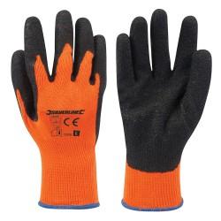 Guantes de alta visibilidad color naranja L 10
