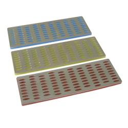Afiladores diamantados, 3 pzas. 50 x 150 mm