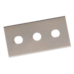 Cuchillas con doble filo, 0,2 mm. 10 pzas