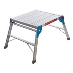 Plataforma cuadrada de aluminio hasta 150 kg.