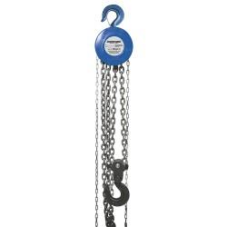Polipasto manual de cadena 5.000 kg / elevación máxima 3 m