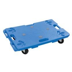 Plataforma de plástico con empuñaduras 100 kg.