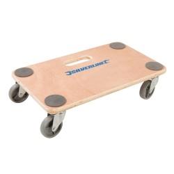 Plataforma con ruedas hasta 150 kg.