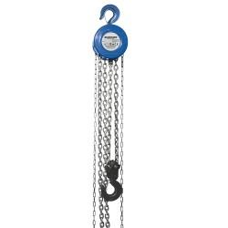 Polipasto manual de cadena 3.000 kg / elevación máxima 3 m