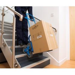 Carretilla de transporte para escaleras hasta 120 kg.