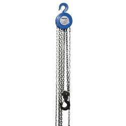 Polipasto manual de cadena 2.000 kg / elevación máxima 3 m
