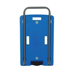Carretilla de transporte con plataforma de polipropileno 100 kg.