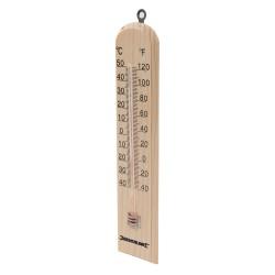 Termómetro de madera -40° a +50° C