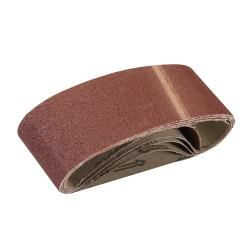 Bandas de lija 60 x 400 mm, 5 pzas. grano 80