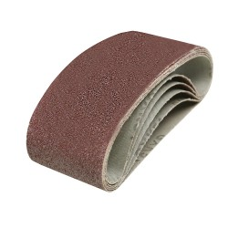 Bandas de lija 60 x 400 mm, 5 pzas. grano 40