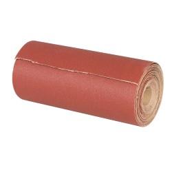 Rollo lija de óxido aluminio 115 mm. x 50 metros grano 80