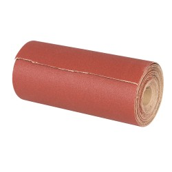 Rollo lija de óxido aluminio 115 mm. x 50 metros grano 60