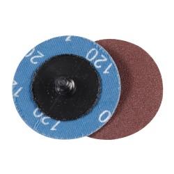 Discos de lija de montaje rápido 50 mm, 5 pzas. grano 120