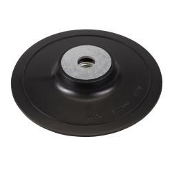 Plato de soporte ABS para discos de fibra 125 mm.