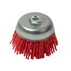 Cepillo abrasivo con filamentos 75 mm, grueso