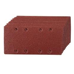 Hojas de lija perforadas velcro 93 x 190 mm, 10 pzas. grano 60