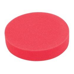 Esponja de pulido velcro 180 mm, ultra blanda, rojo
