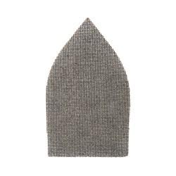 Mallas abrasivas triangulares velcro 175 x 105 mm, 10 pzas. grano 120