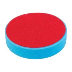 Esponja de pulido velcro 180 mm, media, azul
