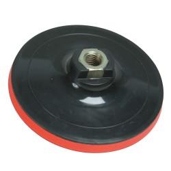 Plato de soporte velcro 125 mm.