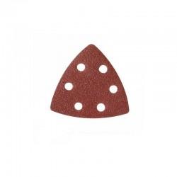Lija para base triangular de 90 mm.  velcro grano 80