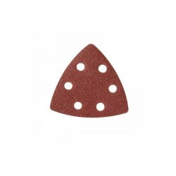 Lija para base triangular de 90 mm.  velcro grano 220