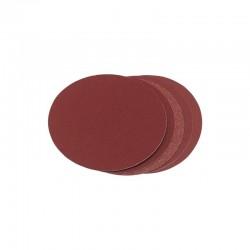 Discos de lija velcro 50 mm, 60 pzas.  Granos: 20 x 60, 80, 120