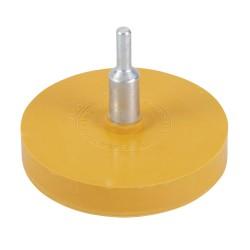 Disco de goma quita-adhesivos 85 mm.