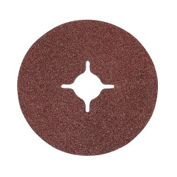 Discos de lija de fibra 115 x 22,23 mm, 10 pzas. grano 60