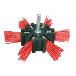 Cepillo abrasivo con filamentos de nylon Grueso, 100 mm