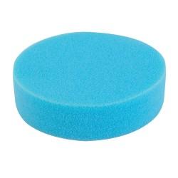 Esponja de pulido velcro 150 mm, media, azul