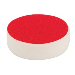 Esponja de pulido velcro 150 mm, rígida, blanco