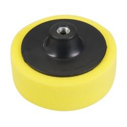 Esponja de pulido M14  150 mm, gruesa, amarillo