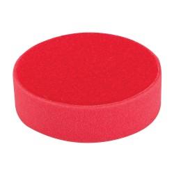 Esponja de pulido velcro 150 mm, ultra blanda, rojo