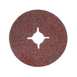 Discos lija de fibra 115 x 22,23 mm, 10 pzas. grano 36