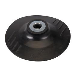 Plato de soporte de goma 115 mm.